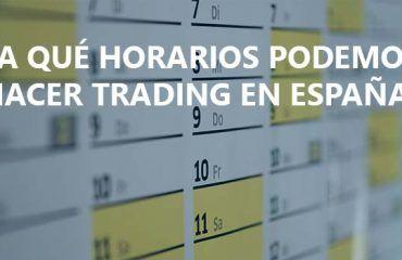 horarios trading espana