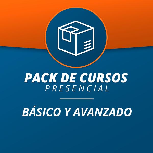 Pack de Cursos Presencial - Básico y Avanzado