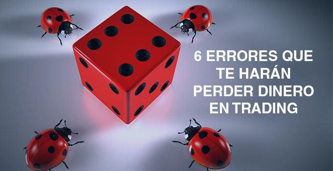 seis errores trading