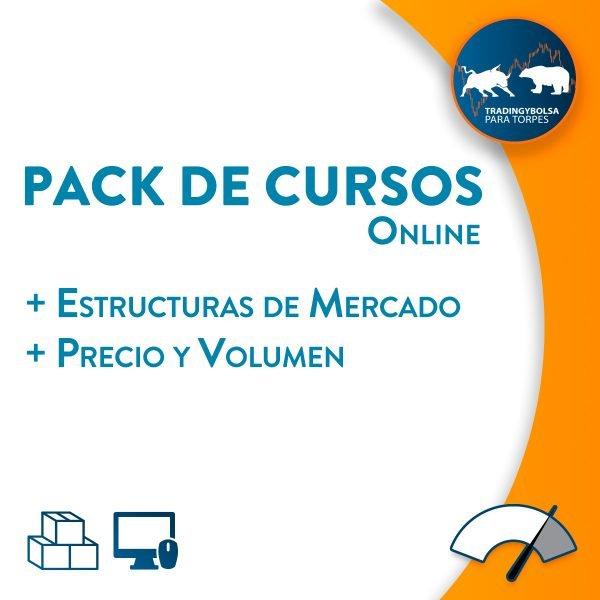 Pack Online Estructuras + Precio y Volumen