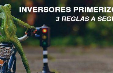 3 REGLAS INVERSORES PRIMERIZOS