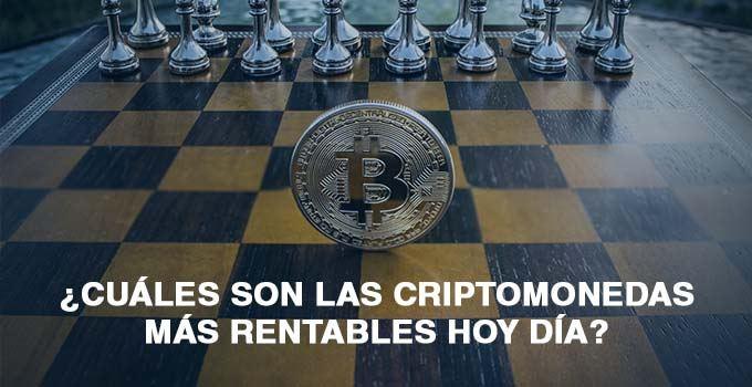 CRIPTOMONEDAS MAS RENTABLES