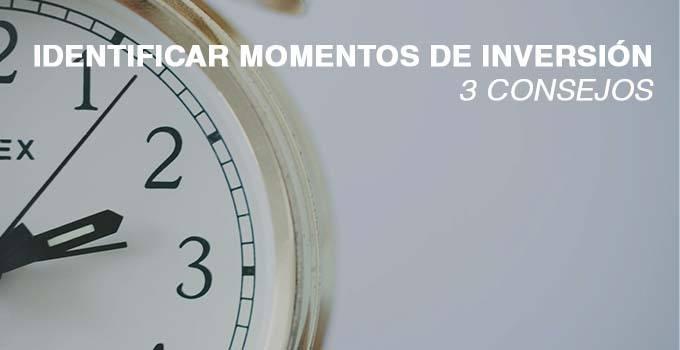 IDENTIFICAR MOMENTOS INVERSION