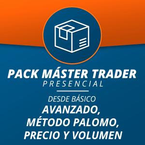 Pack Máster Trader Presencial (desde Básico)